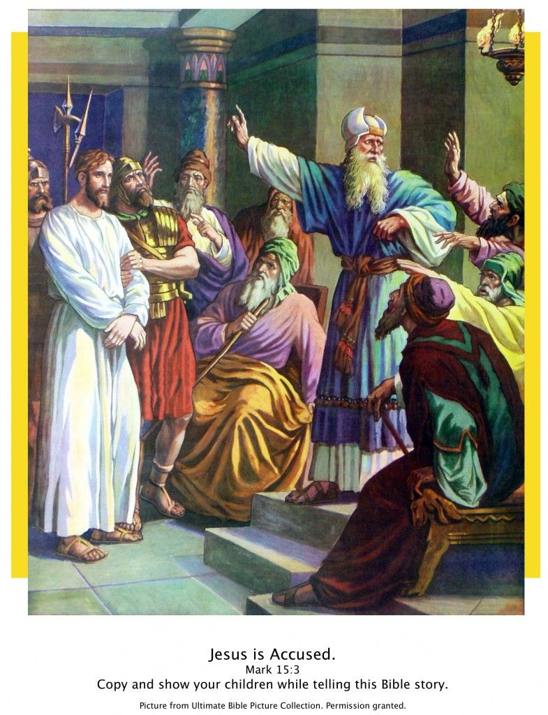 Jesus accused