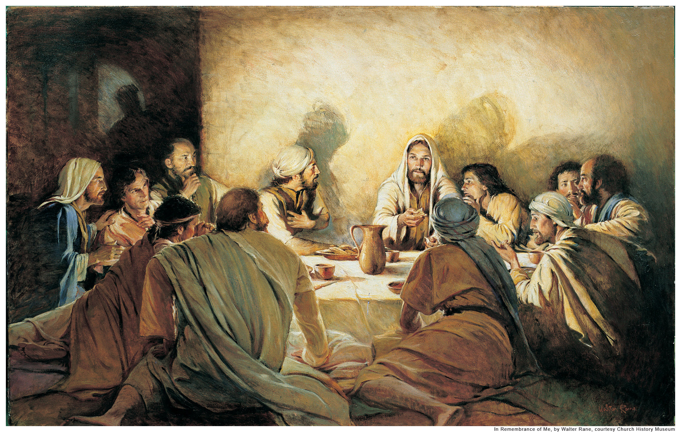 passover feast with Jesus