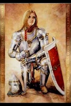 women with armor 2